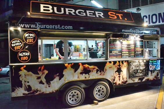 street food and burger machine Café burger trailer:  bespoke street food  whitbymorrisson soft ice cream van with capprigiani high performance machine fitted with all modern equipment 8.