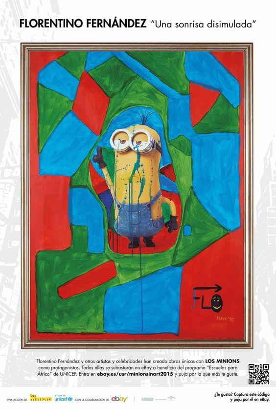 "Minions In Art / Florentino Fernández / ""Una sonrisa disimulada"""