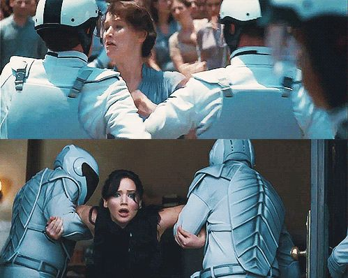 The Hunger Games vs. Catching FIre