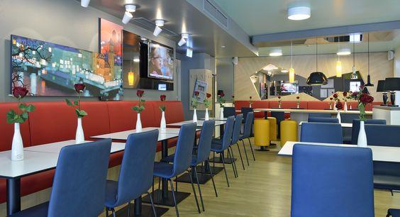 Frühstücksraum des B&B Hotels Passau