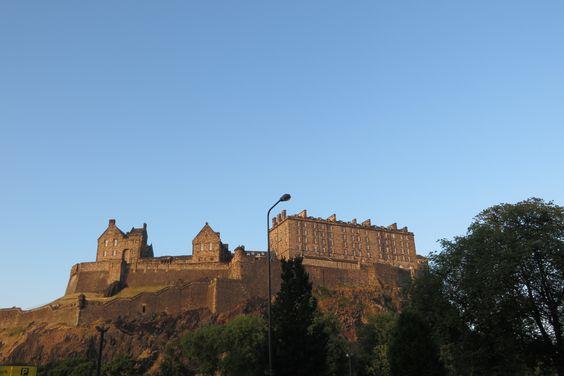 Castillo de Edimburgo. Escocia.