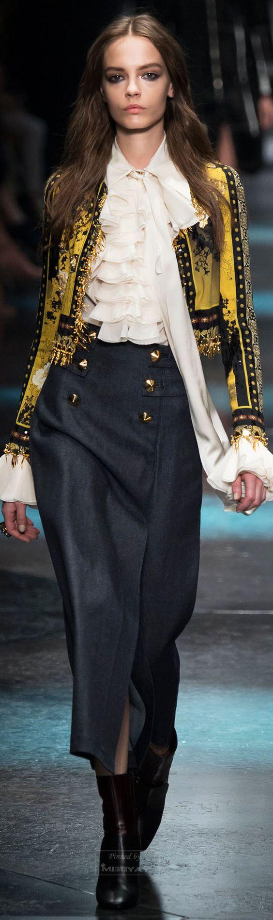 Roberto Cavalli.Fall 2015.