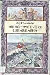 The first Two Lives of Lukas-Kasha is a fabulous book.  I has some real interesting perpectives on how people look at the world and themselves.  Worth the read.  12+ and above would get more out of the book as it is more philosophical than most Youth Fantasy. Google Image Result for http://upload.wikimedia.org/wikipedia/en/c/c5/Lk_alexander.jpg