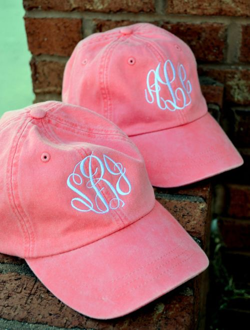 I'm not really a baseball cap type of girl, but the monogram makes it wishlist worthy!