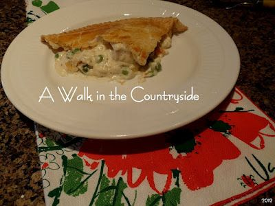 A Walk in the Countryside: Lady and Son's Chicken Pot Pie - Super Delicious