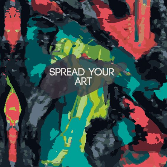 Prints Carola obarrio -SPREADYOURART Abstract Painting Pattern