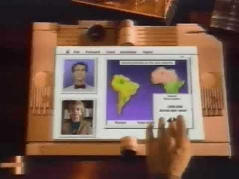 Apple Computer Knowledge Navigator 1987, en waarop het idee van James4You.nl gebaseerd is