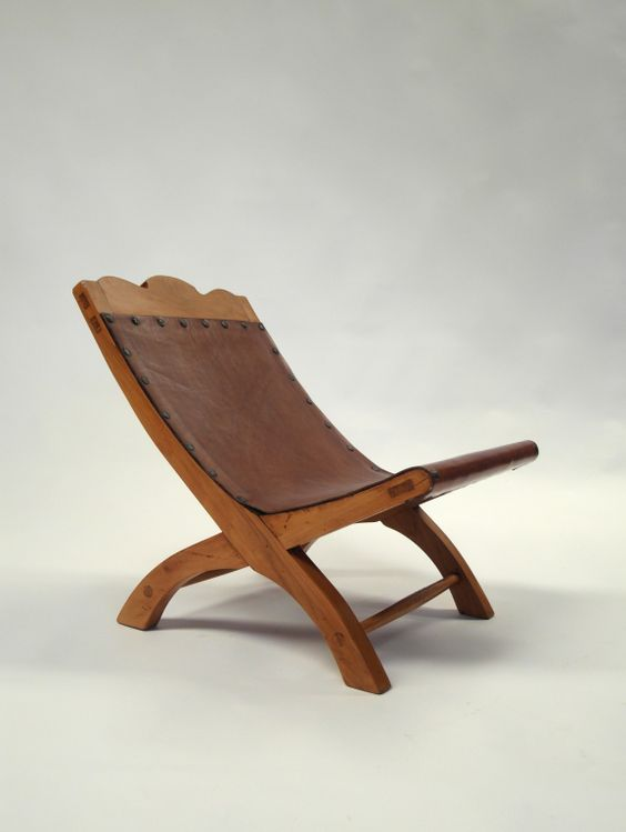 Petite Butaque Attriuted to Clara Porset | From a unique collection of antique and modern slipper chairs at https://www.1stdibs.com/furniture/seating/slipper-chairs/