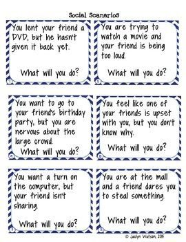 Printables Social Skills Problem Solving Worksheets problem solving life and worksheets on pinterest skills social task cards for middlehigh school