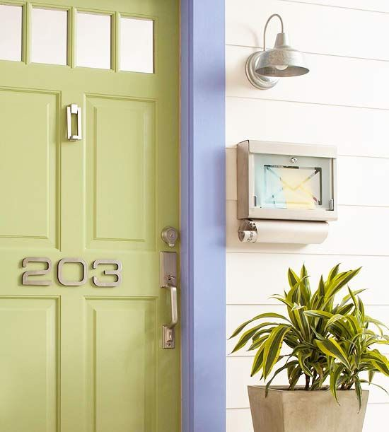 how to add a simple removable lock to a door