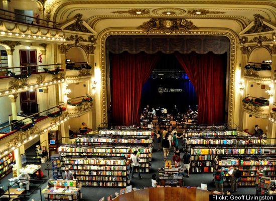 El Ateneo Bookstore Buenos Aires, Argentina