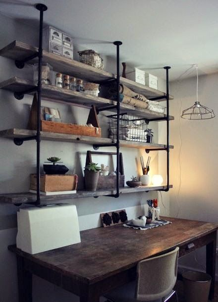 Industrial, Desks and Do it yourself on Pinterest