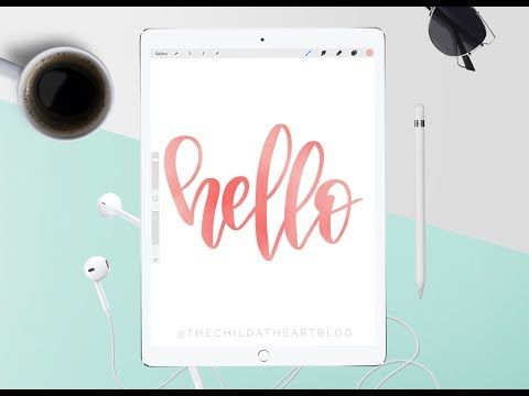 Procreate App Tutorial How To Fill Your Lettering Or Shapes With An Image Or Photo Youtube Lettering Tutorial Ipad Lettering Procreate Procreate App