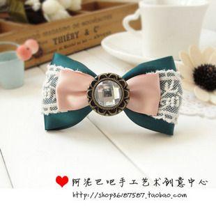 Bow Ribbons, Appliques and Lace - Moño cintas, apliques y encajes