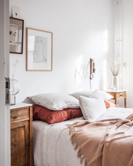 Living coral dormitorio