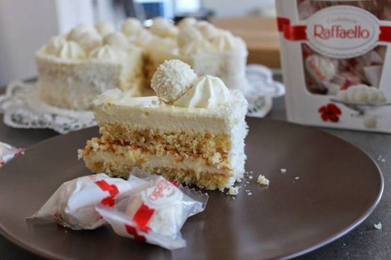 Sallys Blog - Kokos-Torte / Raffaello-Torte