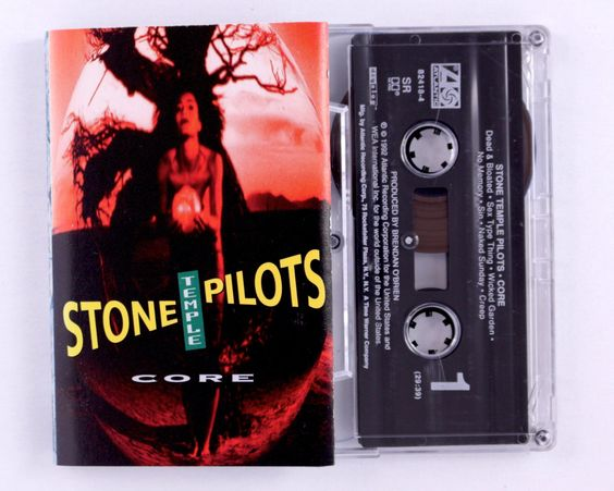 Stone Temple Pilots – Core Cassette Tape by JeepsterVintage on Etsy