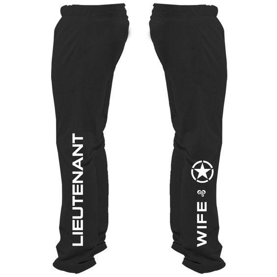 Lieutenant Wife Sweatpants