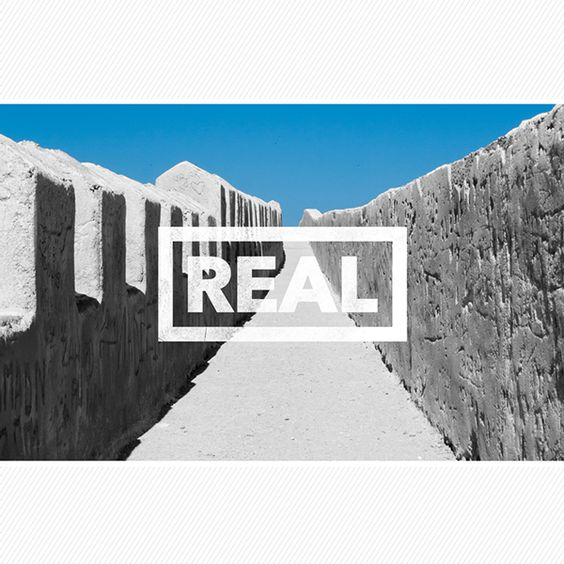 #REAL on #Behance #graphicdesign