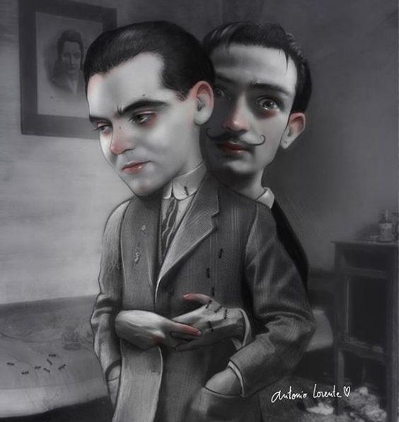 Dalí & Lorca. Lorca & Dali. Work in progress | Antonio Lorente: