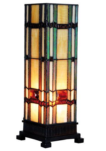 Tiffany Lampe Säulenlampe Helene