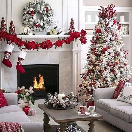 Example of amazing christmas decorations apartment that will amaze your 8