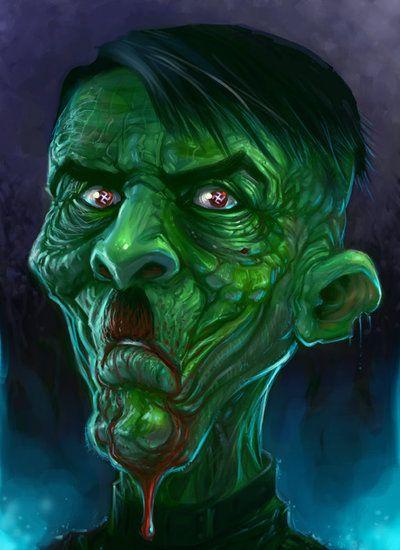 Zombie Hitler by ScottPurdy.deviantart.com