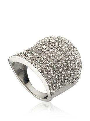 75% OFF Riccova Dazzling 11 Row Crystal Ring