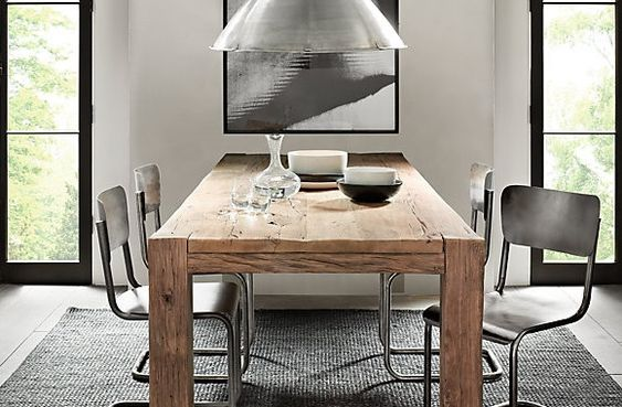 Rustic Dining Tables Modern Chairs And Dining Tables On