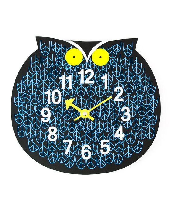 Another great find on #zulily! Omar the Owl George Nelson Zoo Timer Wall Clock by Control Brand #zulilyfinds