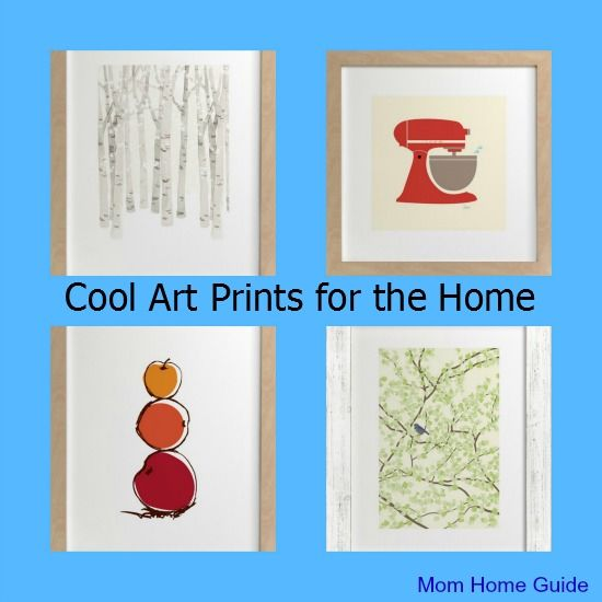 A review of the art prints from Minted.com -- I got the birch tree print for my living room!