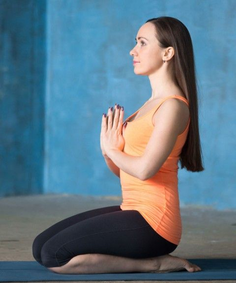 Vajrasana Or Thunderbolt Pose
