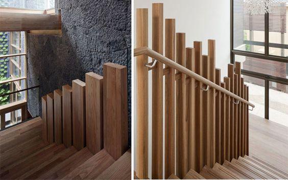 Pasamanos modernos para escaleras de dise o casa - Barandales modernos para escaleras ...