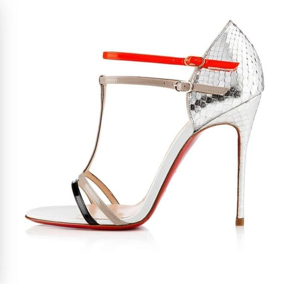 chris louboutin website - Authentic Christian Louboutin Arnold Python heels | Christian ...