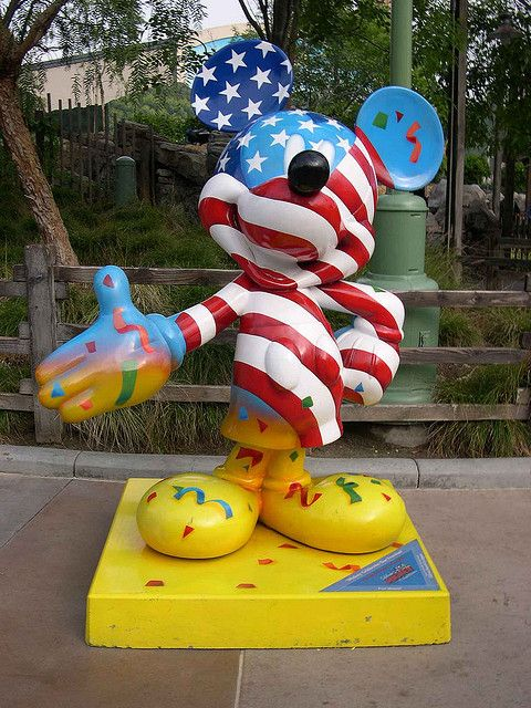 Mickey Mouse - Mickey Celebrated Our Freedom | by brianlau