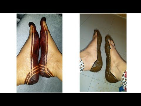 Use The Tape And Make A Very Nice Sudanese Henna Mehndi Design For Yourself اسهل حنه سودانيه بالشريط Youtube Heels Sling Backs Shoes