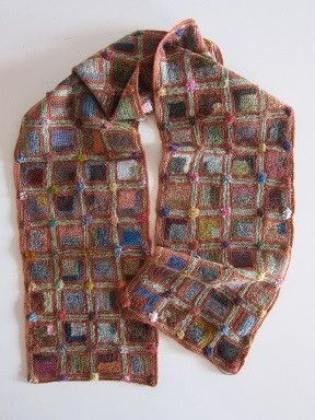 Sophie Digard crochet scarf: