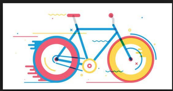 Cycle illustration - excellent colours
