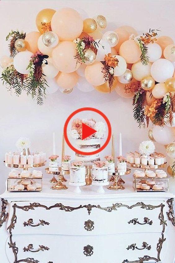 Check Out These Creative Balloon Wedding Decor Ideas Feestje Versiering Ideeen Bruiloftsversieringen Ballonnen