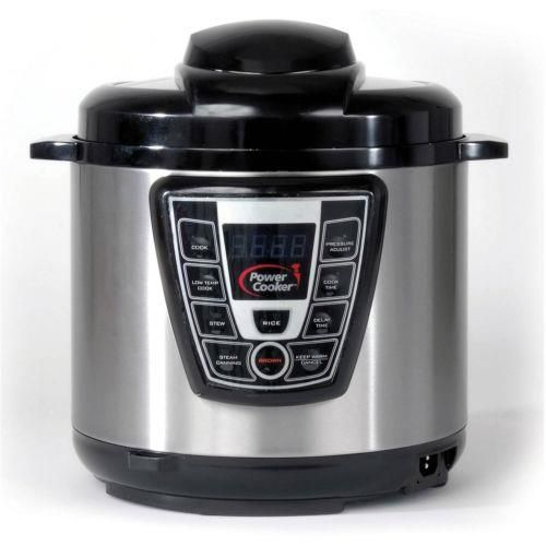 Small Kitchen Appliances: NEW - Power Cooker 6 Quart Electric Digital Automatic Pressure Cooker Canning BUY IT NOW ONLY: $59.95 #priceabateSmallKitchenAppliances OR #priceabate