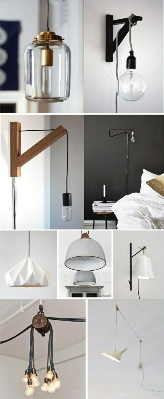 lampen selber machen 25 inspirierende bastelideen wohnung diy pinterest selbermachen und. Black Bedroom Furniture Sets. Home Design Ideas