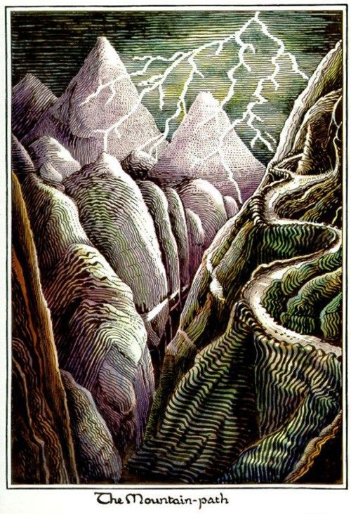 J.R.R. Tolkien también fue un gran dibujante - Aleph