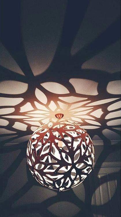 ☆ SPOTTED ☆   #davidtrubridge FLORAL and its stunning shadows.  image by kelzilish, via instagram