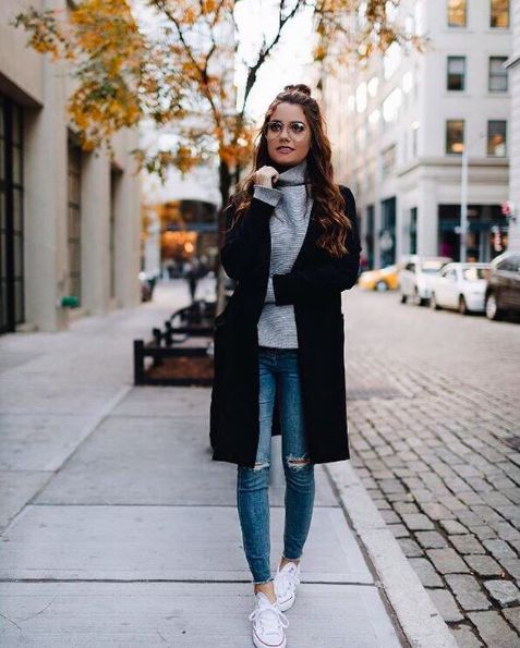 Charming Boho Winter Outfit