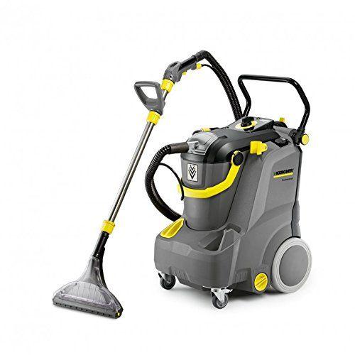 Karcher Puzzi 30 4 Drum Vacuum Cleaner 1200 W Noir Gris Jaune Cleaning Equipment Carpet Cleaners Carpet Cleaning Hacks