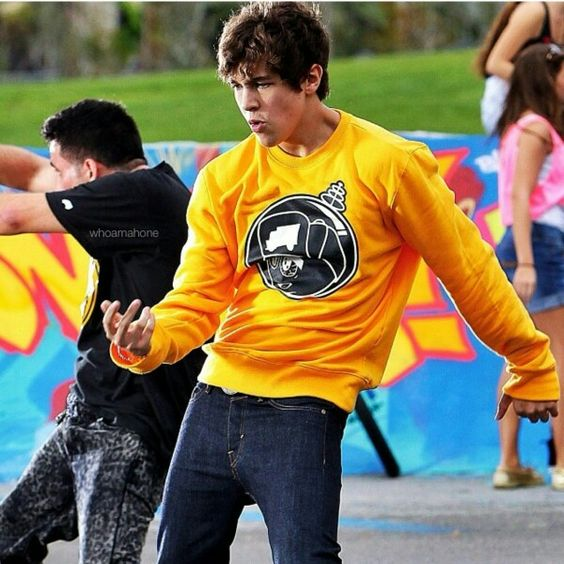 Well this is hot  Austin Mahone :)