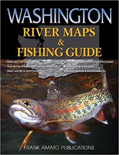 washing ton river fishing maps
