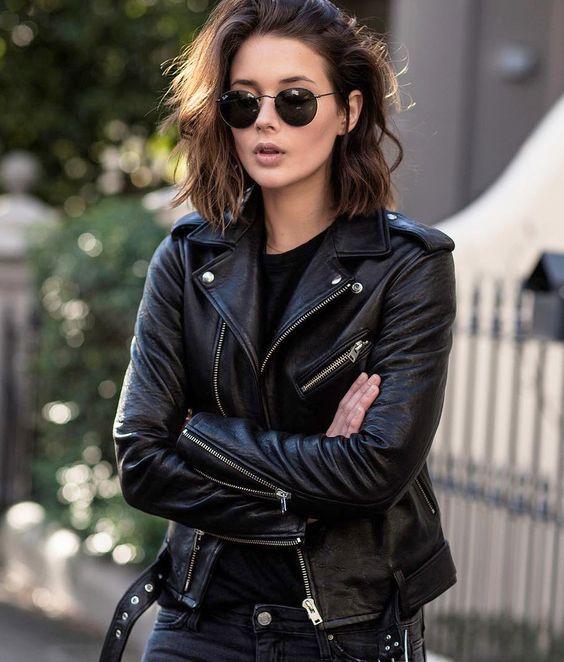 Le parfait total look noir #189 (instagram Sara Donaldson)
