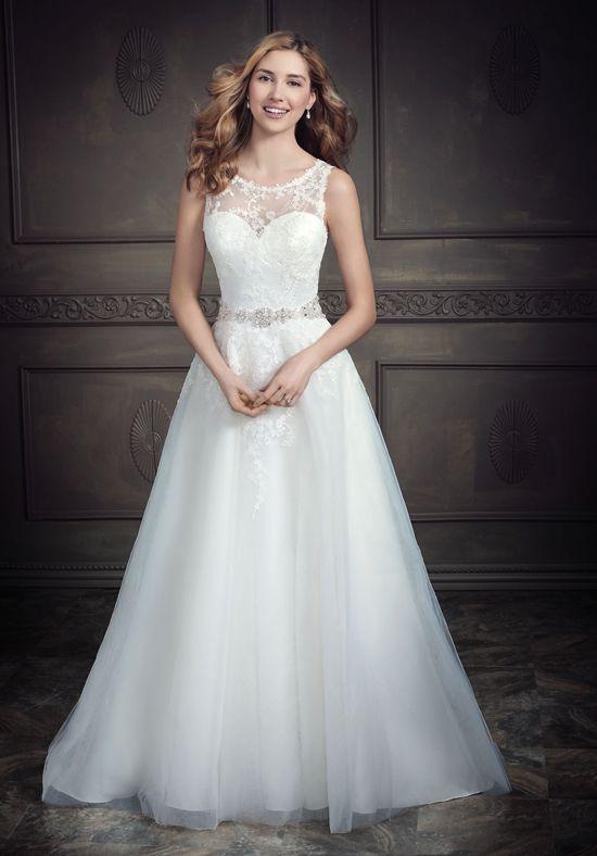 Kenneth Winston: Ella Rosa Collection BE3412 A-Line Wedding Dress