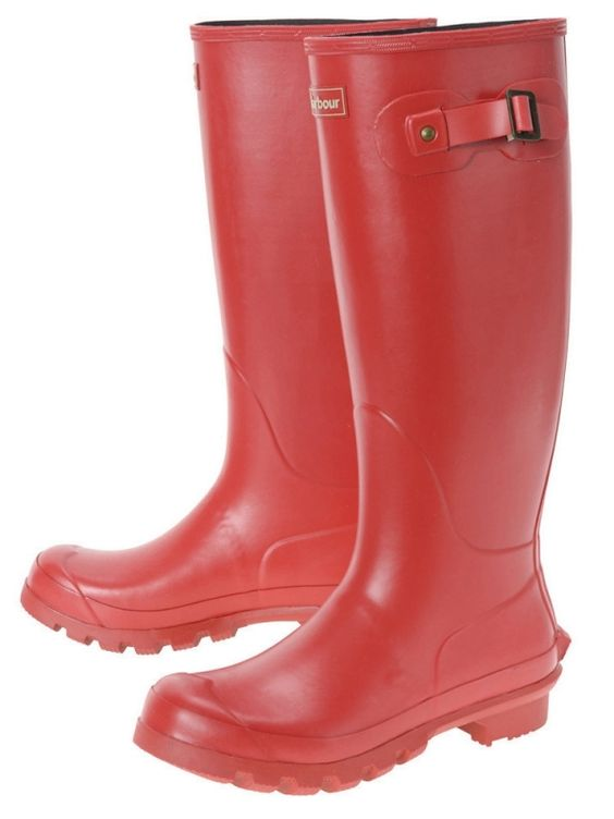 Barbour Country Classic Wellington in Red